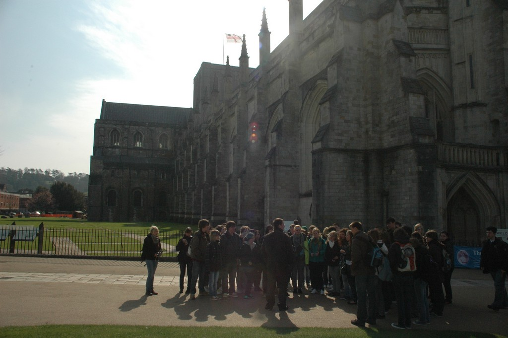 Winchester // Cathedrale