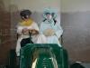 Dejan und Carina in einer anderen Zeit im Motormuseum