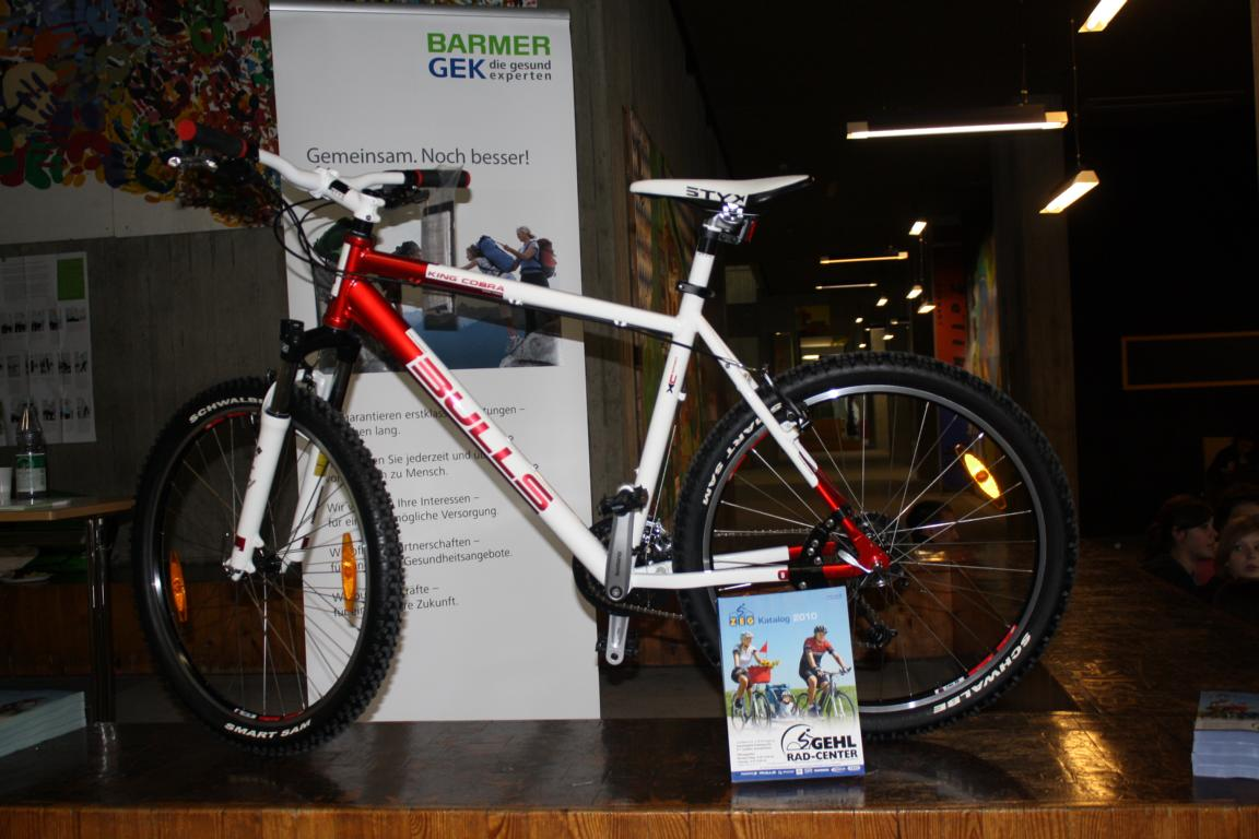 1. Preis Mountainbike von Gehl-Rad-Center